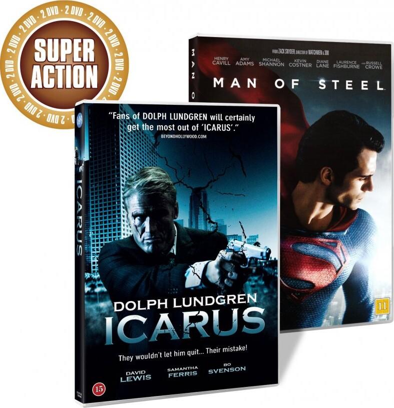Image of   Man Of Steel // Icarus - DVD - Film