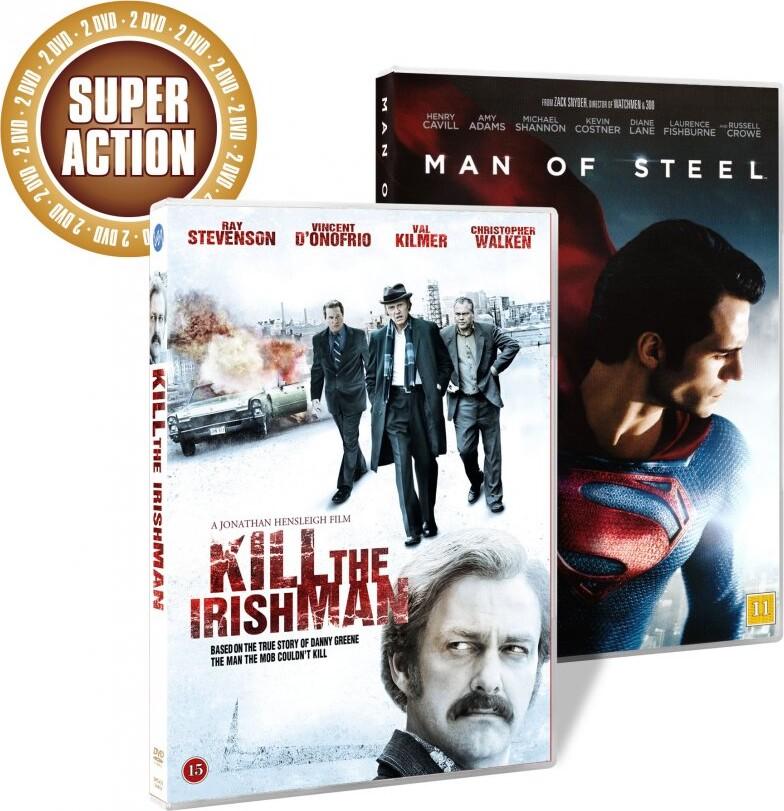 Image of   Man Of Steel // Kill The Irishman - DVD - Film