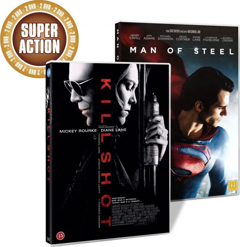 Image of   Man Of Steel // Killshot - DVD - Film