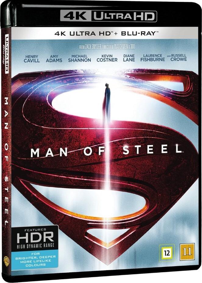 Image of   Man Of Steel - 4kbd - 4K Blu-Ray