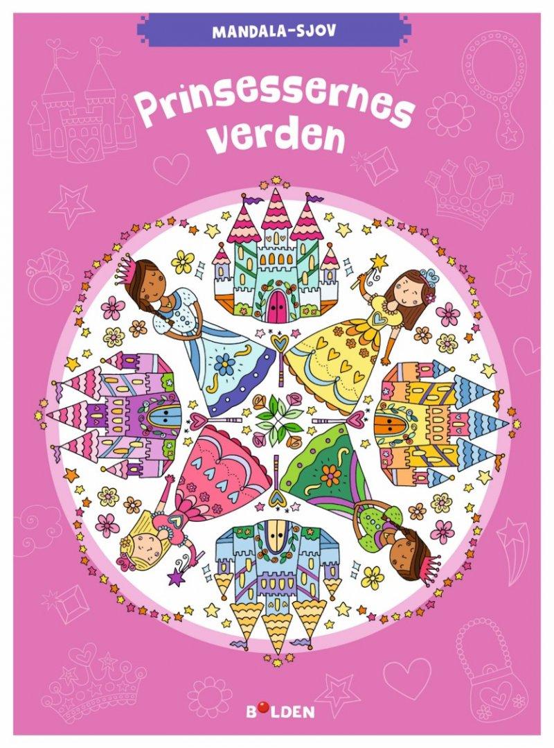 Rask Mandala Malebog - Prinsessernes Verden → Køb billigt her VQ-09