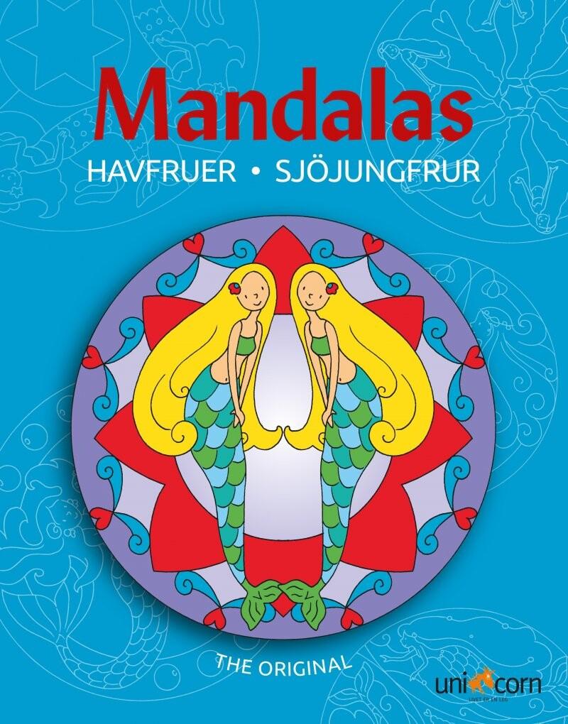 Billede af Mandals Med Havfruer - Diverse - Bog