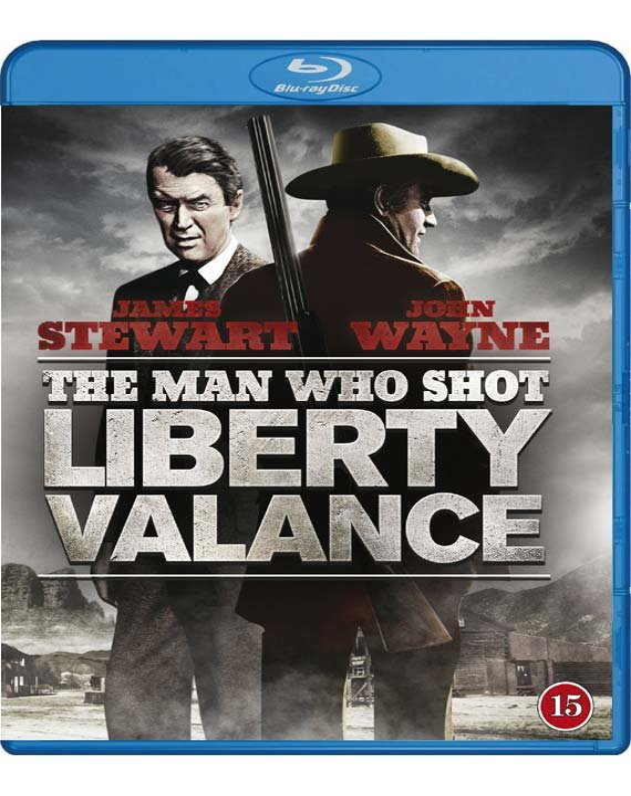 Manden Der Skød Liberty Valance - Blu-Ray