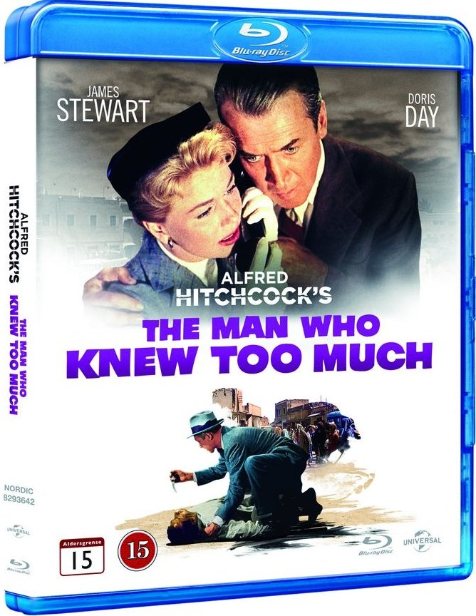 Image of   Manden Der Vidste For Meget / The Man Who Knew Too Much - 1956 - Blu-Ray