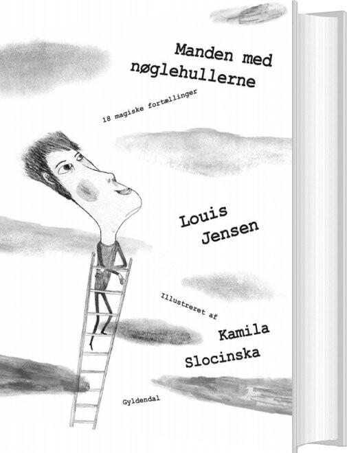 Image of   Manden Med Nøglehullerne - Louis Jensen - Bog