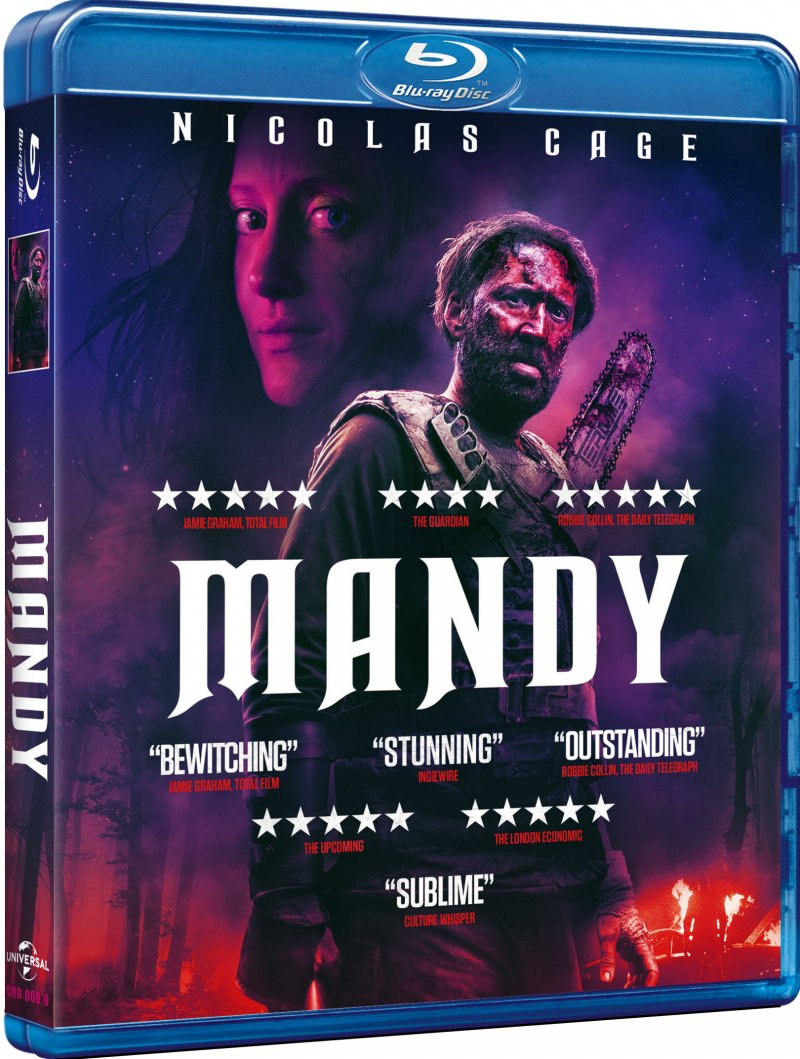 Image of   Mandy - Nicolas Cage - 2018 - Blu-Ray