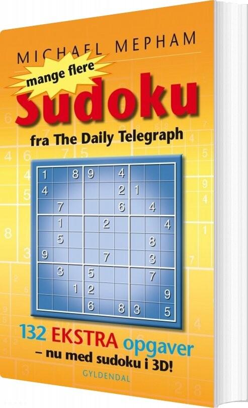 Image of   Mange Flere Sudoku - Med 3d Opgaver - Michael Mepham - Bog