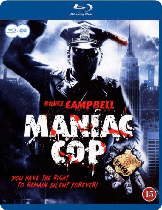 Image of   Maniac Cop (blu-ray + Dvd) - Blu-Ray