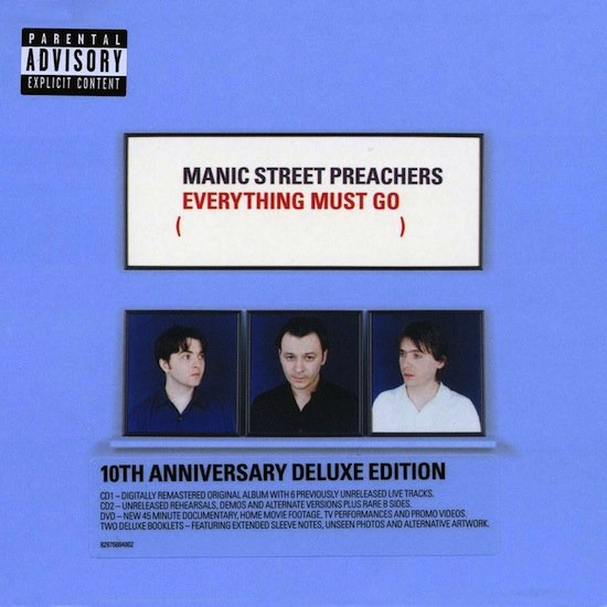 Manic Street Preachers - Everything Must Go (10th Anniversary Deluxe Edition) (2 Cd + Dvd) - CD