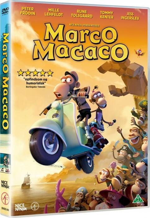 Billede af Marco Macaco - DVD - Film