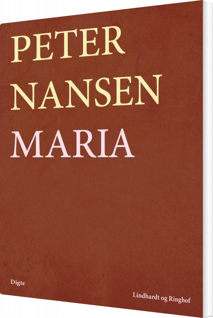 Image of   Maria - Digte - Peter Nansen - Bog