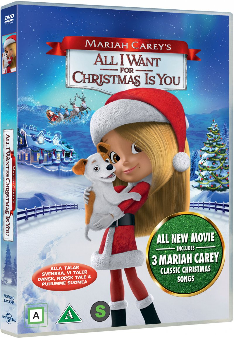Image of   Mariah Careys All I Want For Christmas Is You - DVD - Film