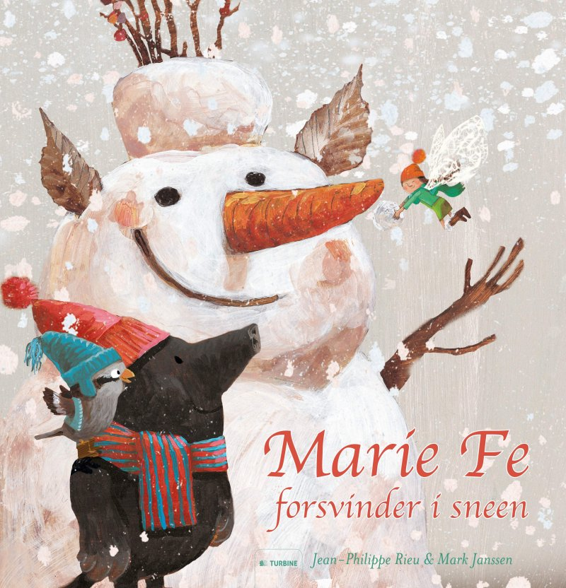 Image of   Marie Fe Forsvinder I Sneen - Jean-philippe Rieu - Bog