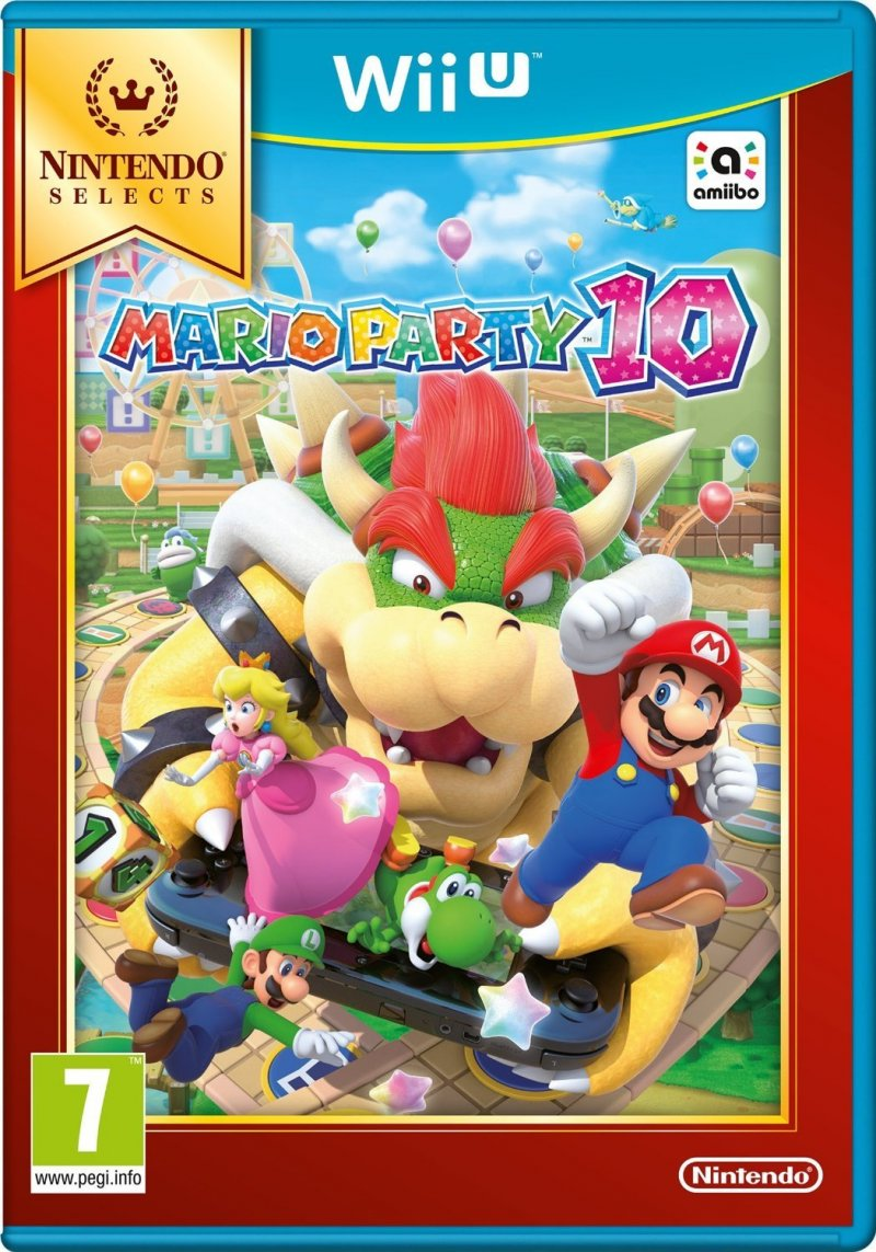 Image of   Mario Party 10 (selects) - Wii U