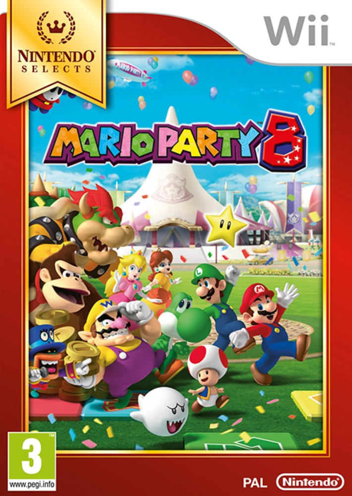 Image of   Mario Party 8 (select) - Wii
