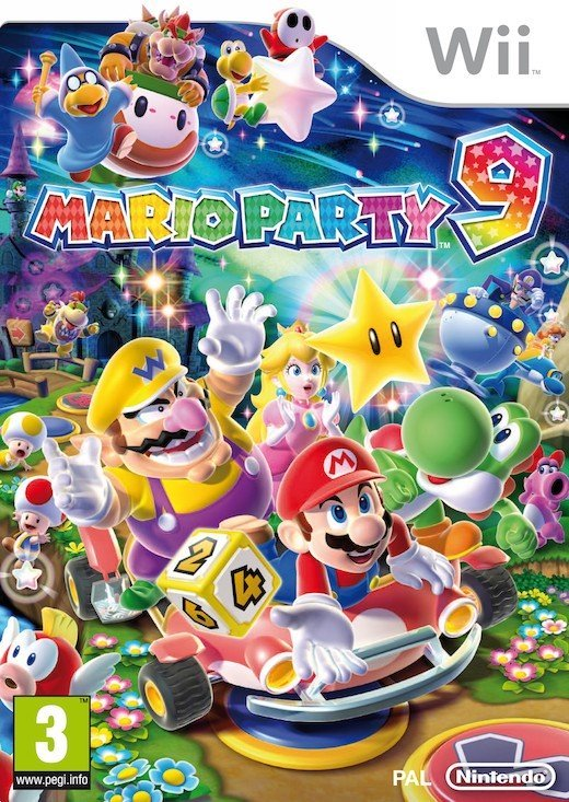 Image of   Mario Party 9 (selects) - Wii