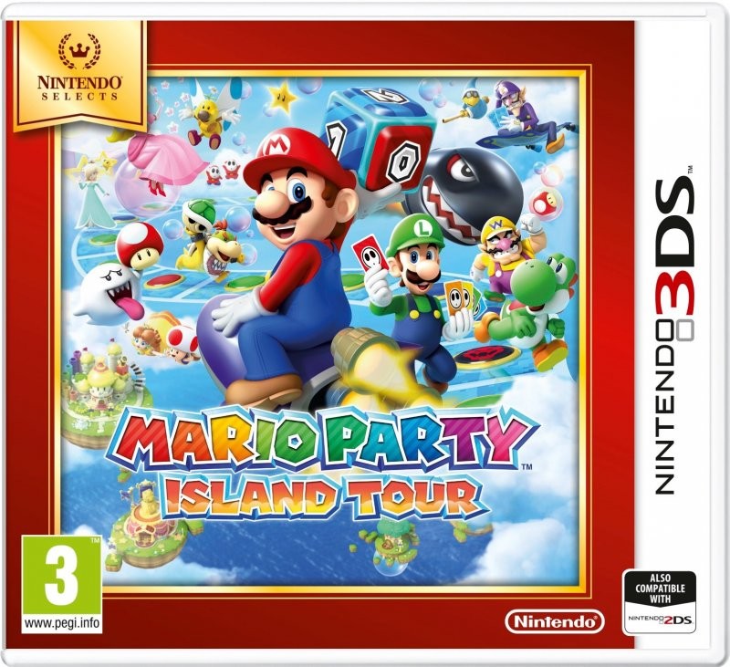 Image of   Mario Party: Island Tour (select) - Nintendo 3DS