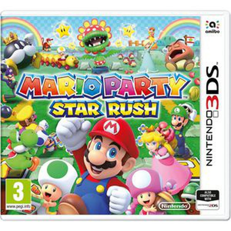 Image of   Mario Party: Star Rush (uk, Se, Dk, Fi) - Nintendo 3DS