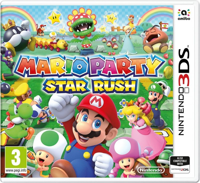 Image of   Mario Party: Star Rush - Nintendo 3DS