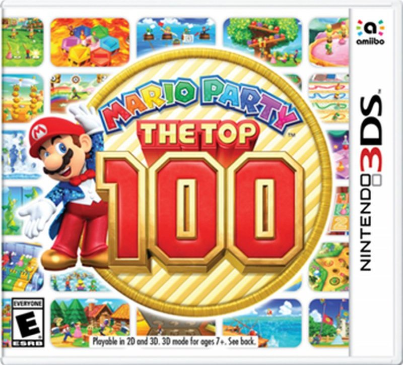 Image of   Mario Party: The Top 100 - Nintendo 3DS