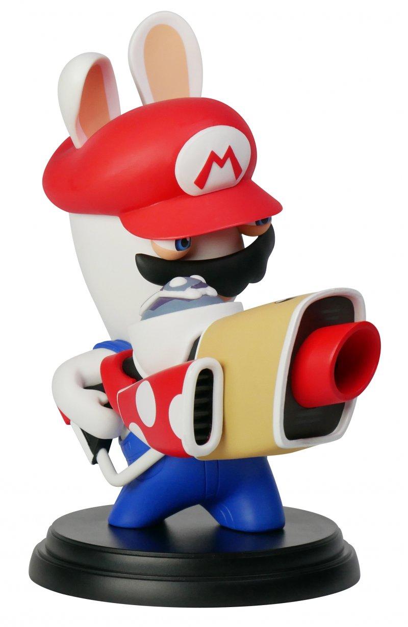 Image of   Mario Rabbids Kingdom Battle Figur - Mario 15 Cm
