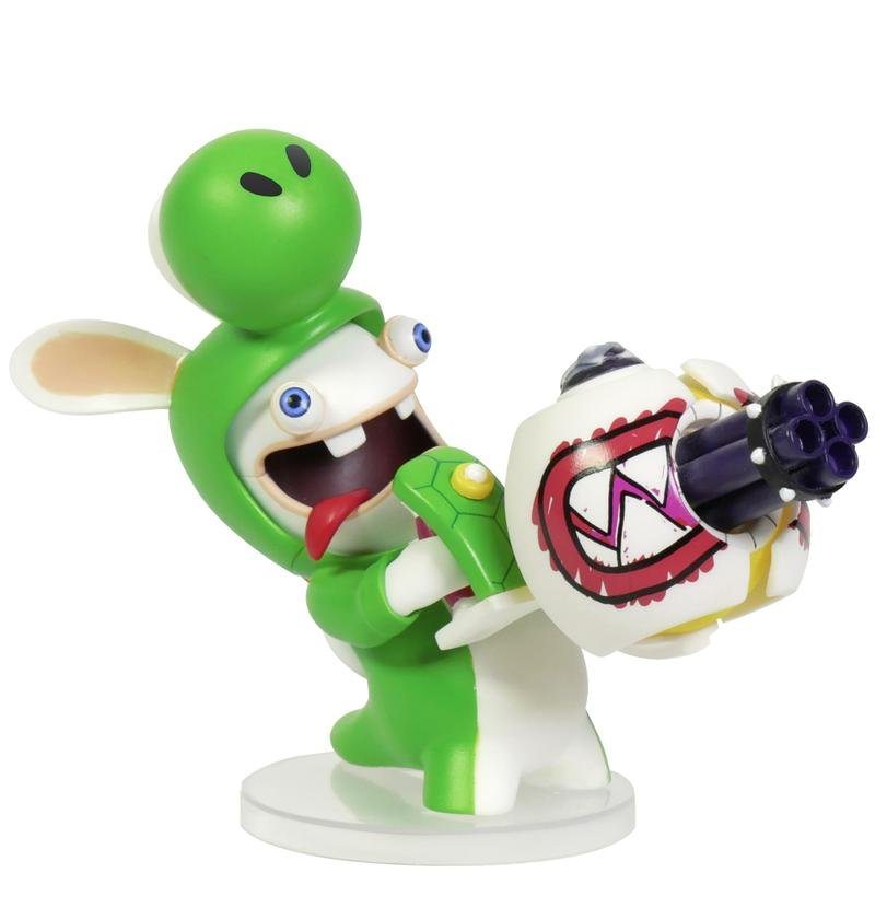 Image of   Mario Rabbids Kingdom Battle Figur - Yoshi 15 Cm
