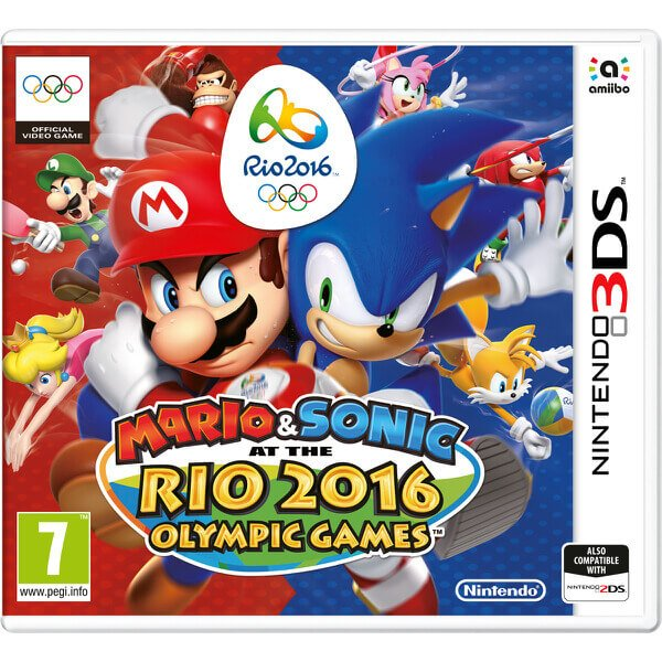 Mario & Sonic At The Rio 2016 Olympics Games (uk, Se, Dk, Fi) - Nintendo 3DS