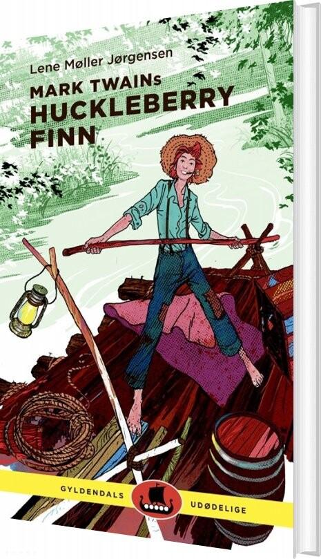 Image of   Mark Twains Huckleberry Finn - Lene Møller Jørgensen - Bog