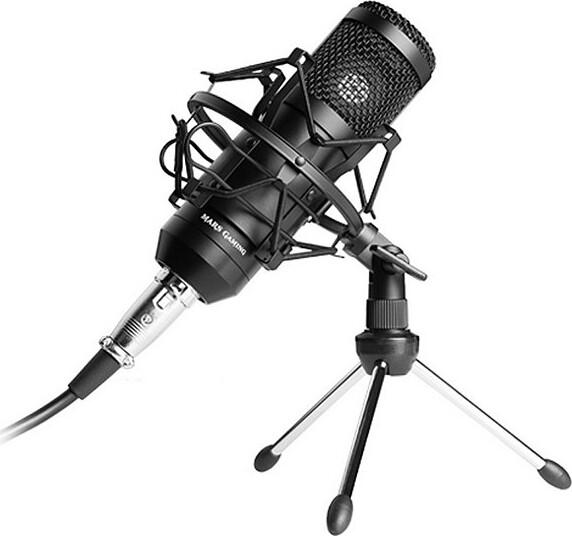 Mars Gaming – Usb Mikrofon Til Pc Mmickit – Sort