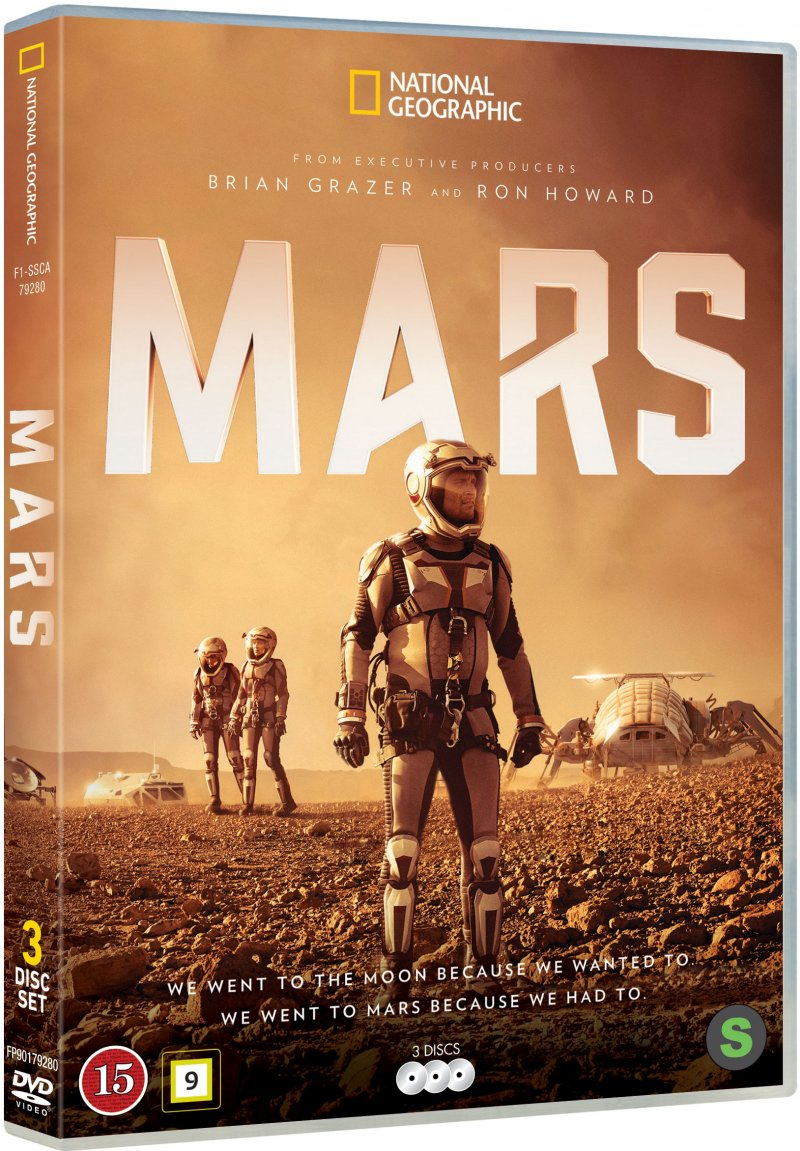 Image of   Mars - Sæson 1 - National Geographic - DVD - Tv-serie