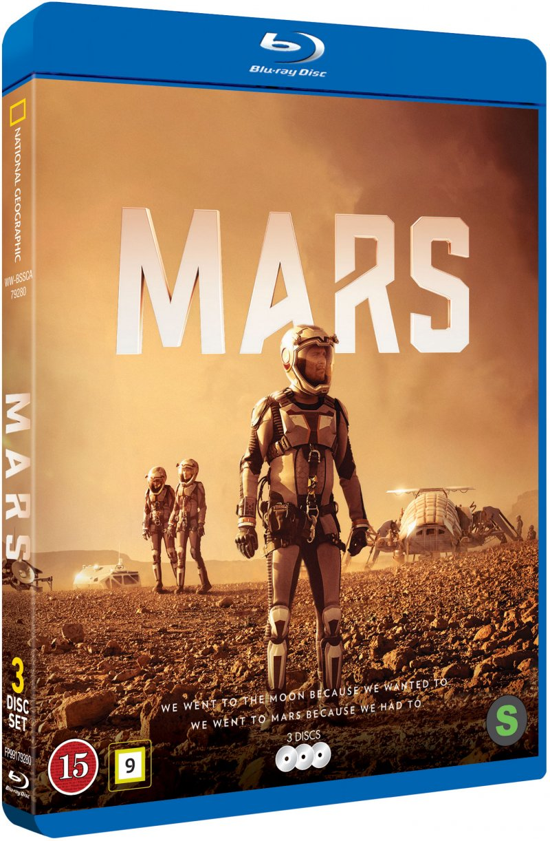 Mars - Sæson 1 - National Geographic - Blu-Ray - Tv-serie