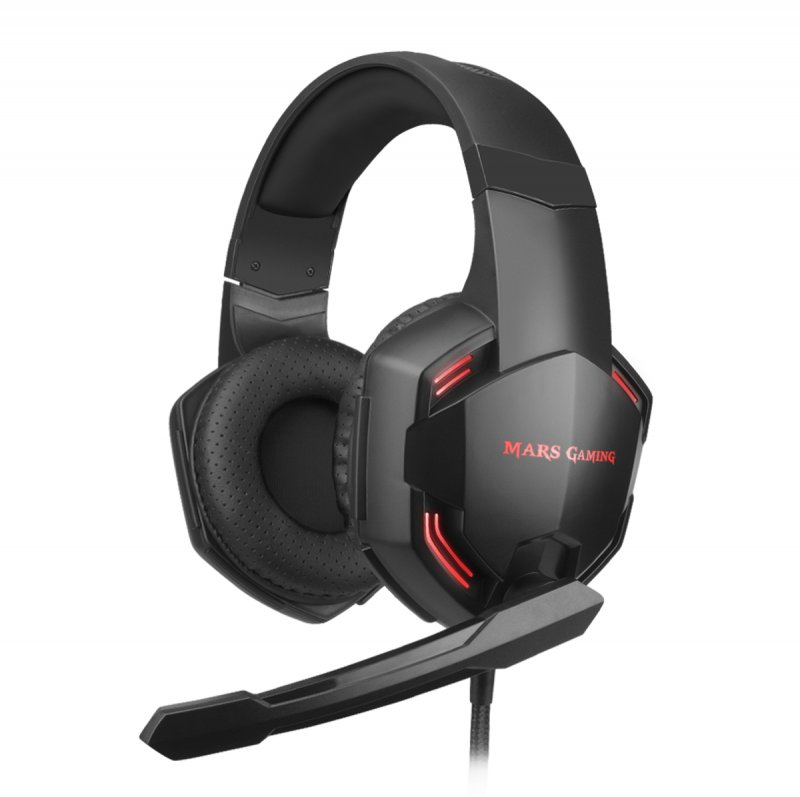 Image of   Mars Usb Gaming Headset Med Mikrofon - Mhxpro71 - 2 M - Sort