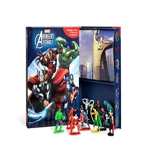Image of   Marvel Busy Book Avengers - Diverse - Bog
