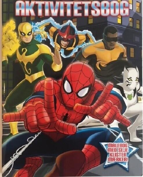 Image of   Marvel Spiderman Aktivitetsbog - Diverse - Bog