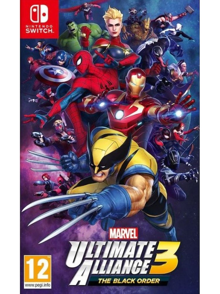 Image of   Marvel Ultimate Alliance 3: The Black Order - Nintendo Switch