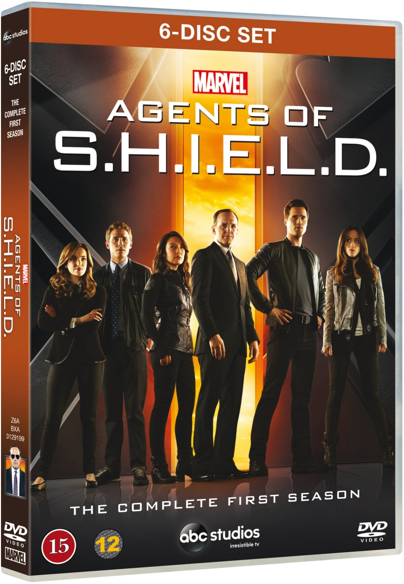 Image of   Marvel - Agents Of Shield - Sæson 1 - DVD - Tv-serie