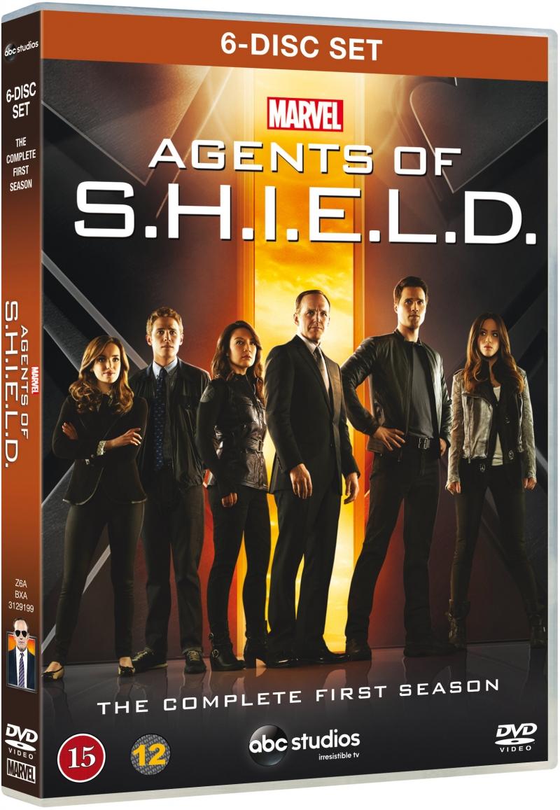 Image of   Marvel - Agents Of Shield - Sæson 1 - DVD - Tv-serie