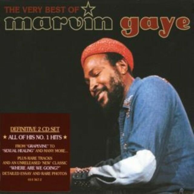 Image of   Marvin Gaye - The Very Best Of Marvin Gaye - CD