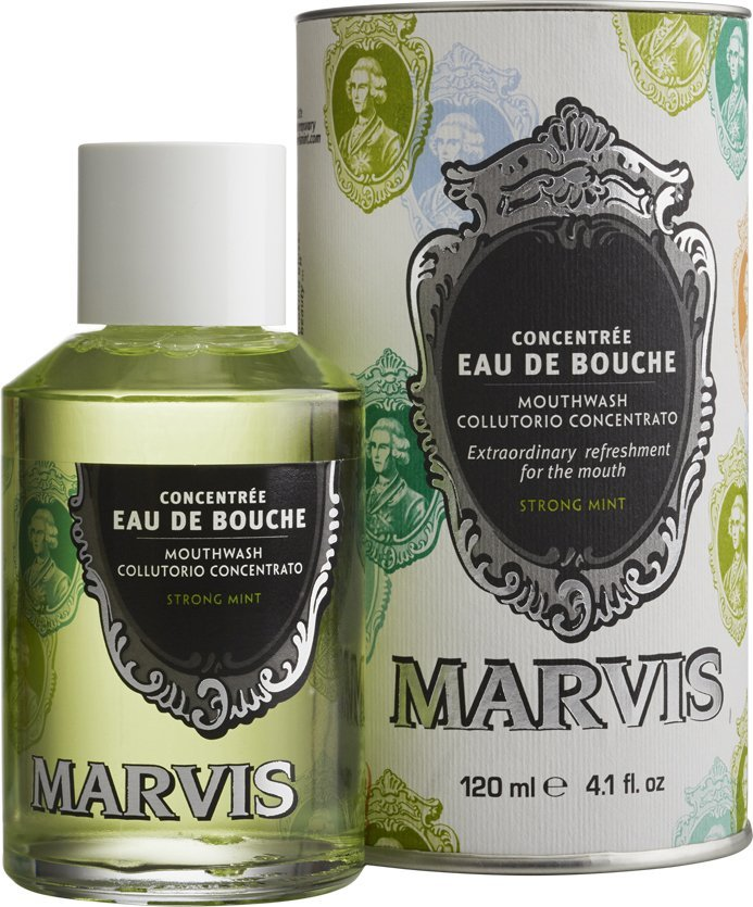 Marvis Mouthwash / Mundskyl - Strong Mint - 120 Ml
