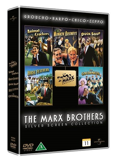 Image of   Marx Brothers Box Collection - DVD - Film