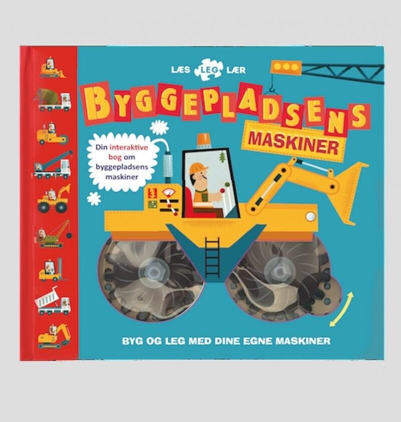 Image of   Byggepladsens Maskiner, Læs Leg Lær - Bog