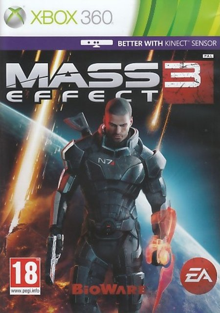 Image of   Mass Effect 3 (kinect Compatible) - Xbox 360