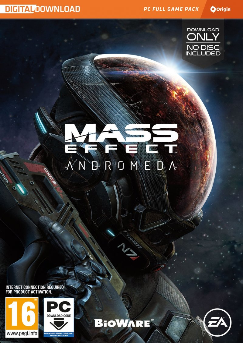 Image of   Mass Effect: Andromeda (code In A Box)(nordic) - PC