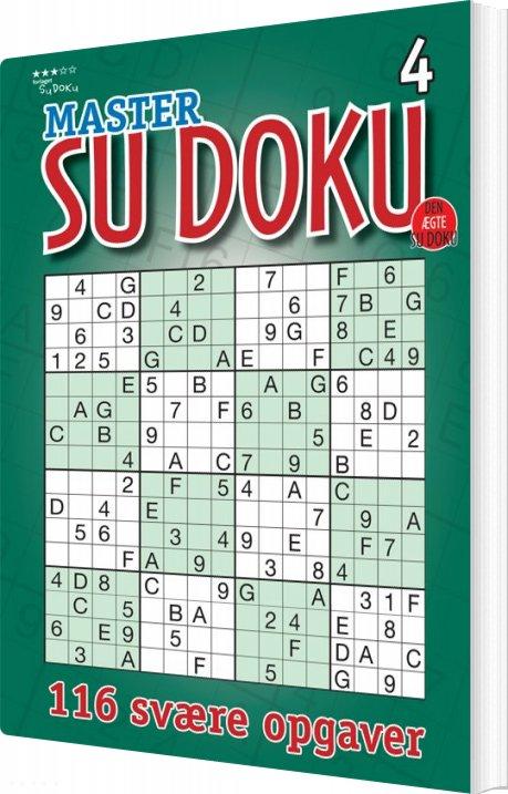 Image of   Master Sudoku 4 - Svend Høgh - Bog