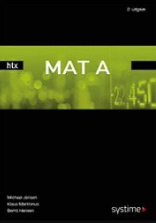 Mat A Htx - Michael Jensen - Bog