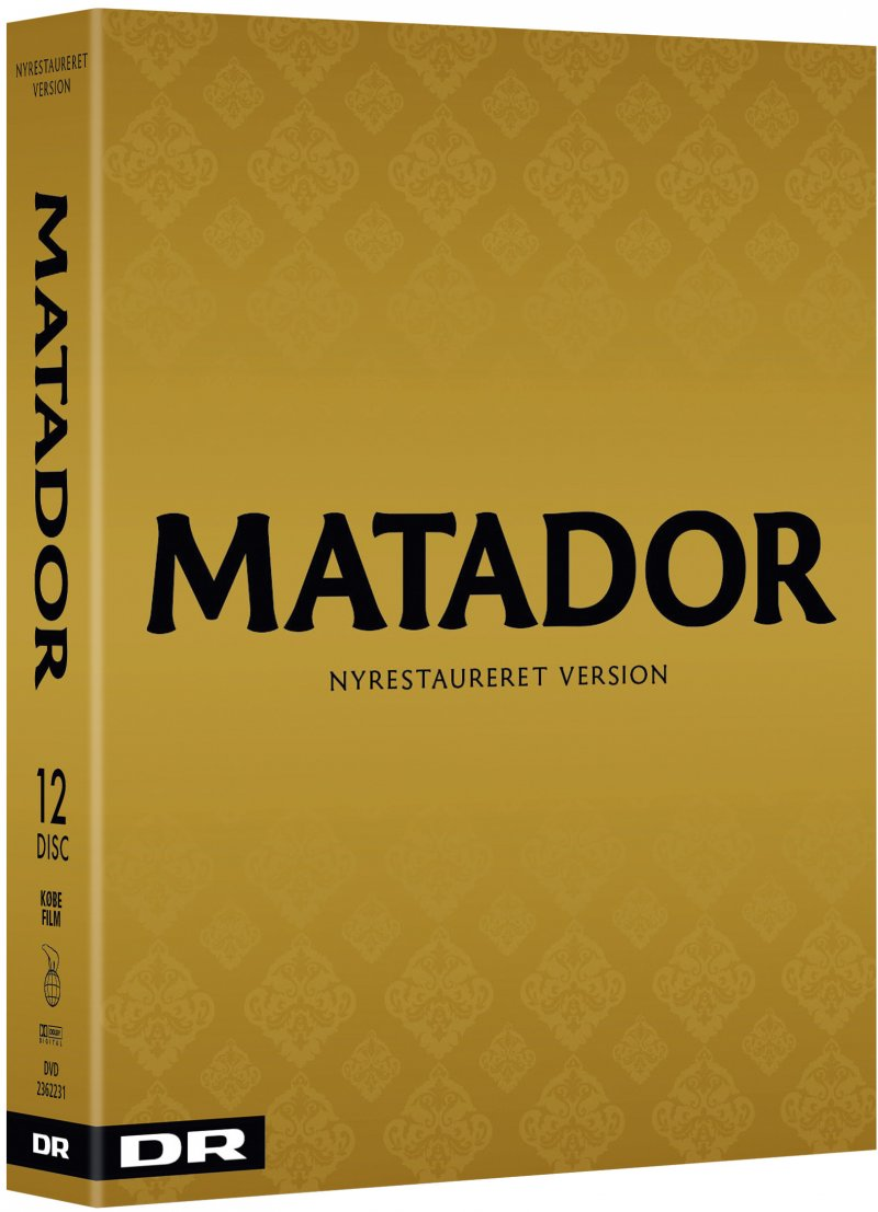 Flot Matador - Komplet Boks - Ny Restaureret Version 2017 DVD → Køb TV UQ-13