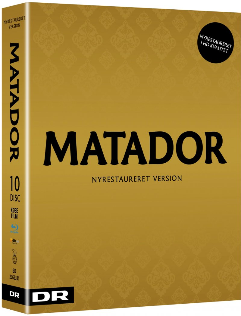 Matador - Komplet Boks - Ny Restaureret Hd Version 2017 - Blu-Ray - Tv-serie