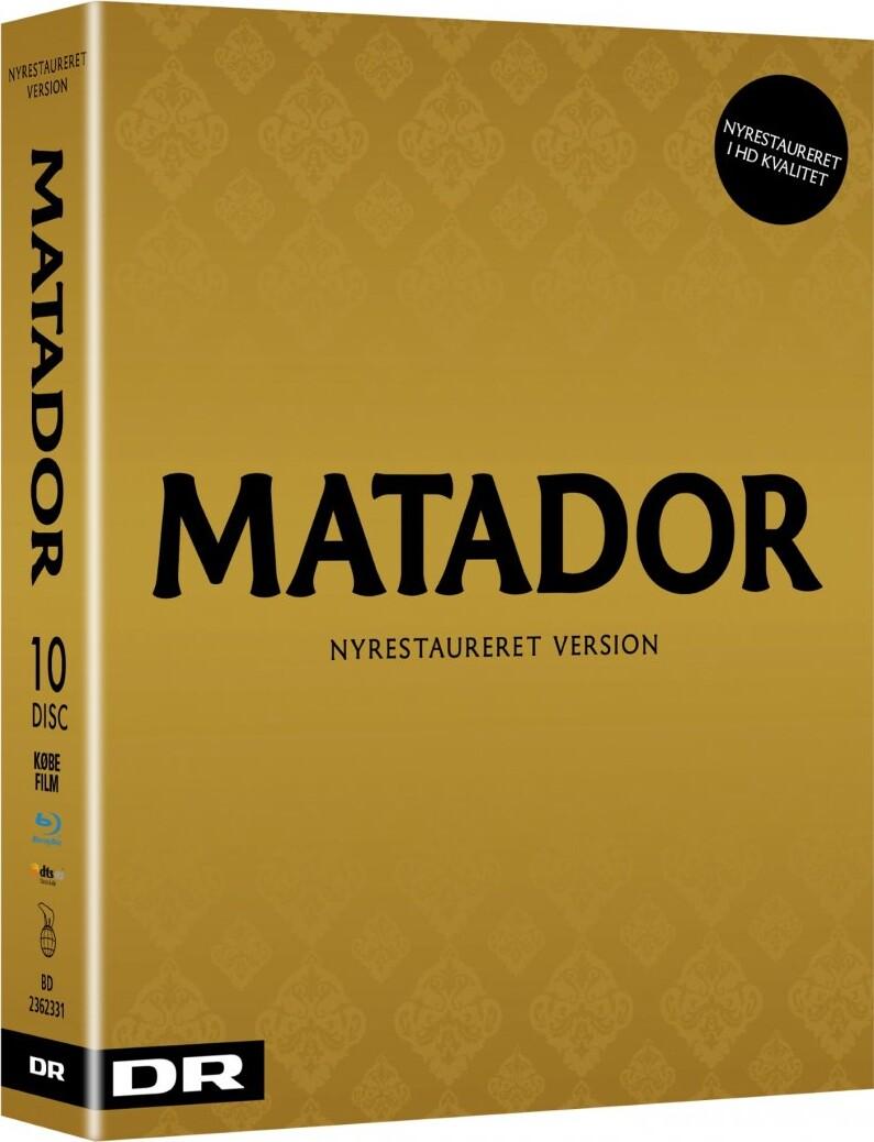 Image of   Matador - Komplet Boks - Ny Restaureret Hd Version - Blu-Ray - Tv-serie