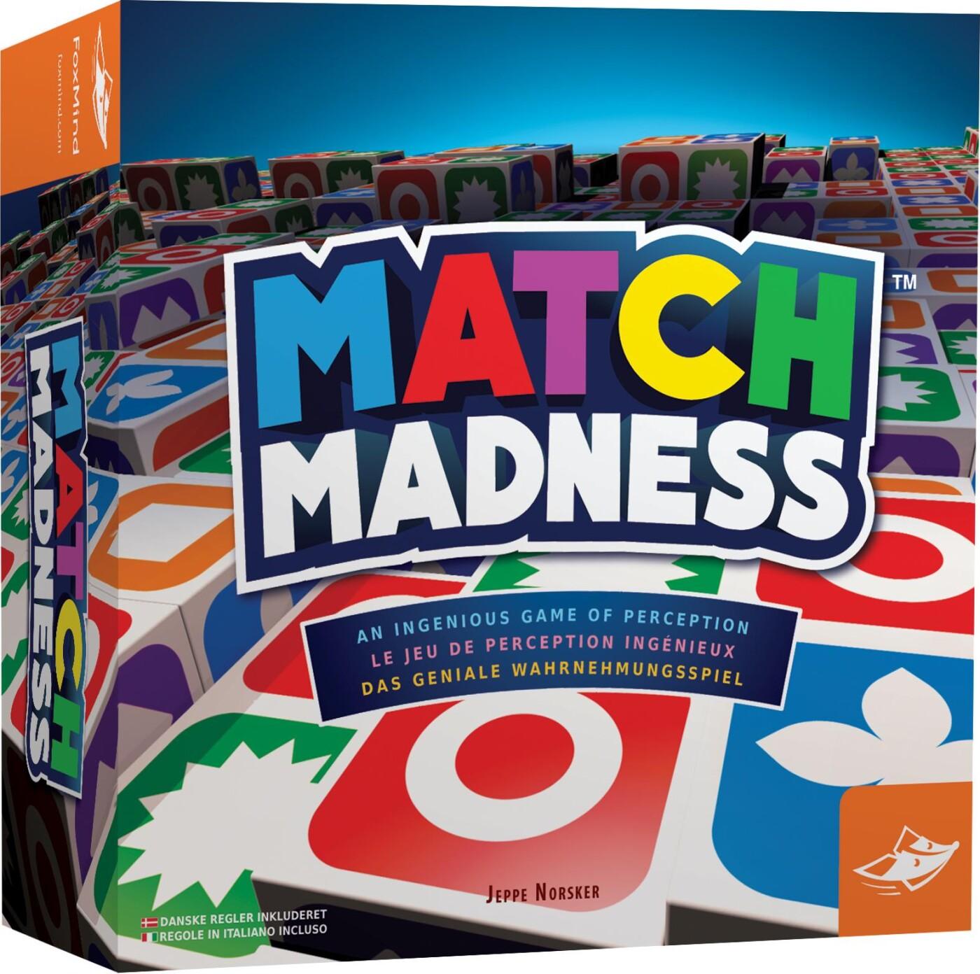 Image of   Match Madness - årets Familiespil 2017 - Brætspil