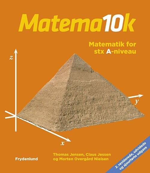 Image of   Matema10k - Matematik For Stx, A-niveau - Thomas Jensen - Bog